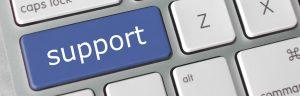 recruitment support keyboard button